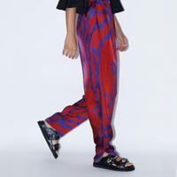 TOGA PULLA / Inner Print Pants / Red