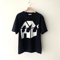 JW ANDERSON x David Wojnarowicz / Burning House T-shirt  / BLACK x WHITE