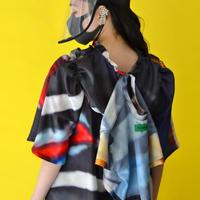 【DELTA EXCLUSIVE】 PUGMENT / PRINT DRESS