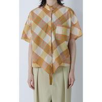 BASE MARK / Plaid Rhombus Shirts / Yellow