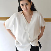 VEJAS / PRONGED BLOUSE / WHITE