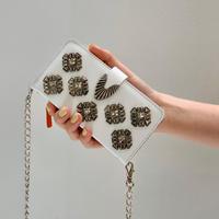 TOGA PULLA / Mobile  Cover With chain / WHITE