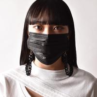 Saskia Diez / BLACK NYLON MASK CHAIN