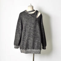 TOGA / Silver knit pullover