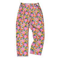 WATARU TOMINAGA / Twin Pleat Trousers / Pink Print