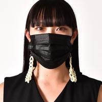 Saskia Diez / WHITE NYLON MASK CHAIN