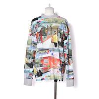 WATARU TOMINAGA / Long Sleeve T-shirt / Landscape & Stones