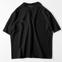 wide shirt black / neon