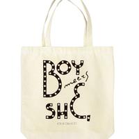 tote bag / boxsign