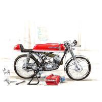 Kawasaki 90SS Custom