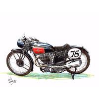 Excelsier Cafe Racer