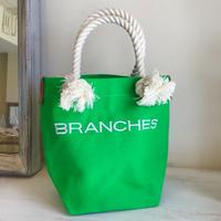 BRANCHES オリジナル トートバック(ライトグリーン)