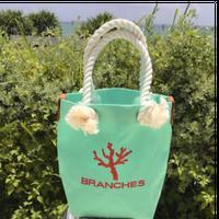 BRANCHES オリジナル トートバック *珊瑚刺繍入り*(ホライズン)