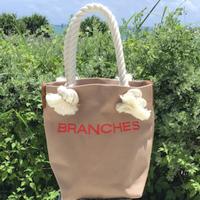 BRANCHES オリジナル トートバック(ライトシナモン)