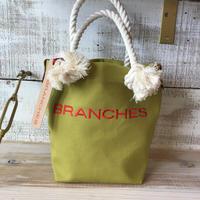 BRANCHES オリジナル トートバック(ヒワグリーン)