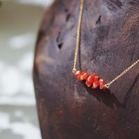 赤珊瑚ネックレス