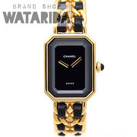 シャネル 腕時計 プルミエール L H0001 Qz GP 当店オリジナルボックス付 【送料無料】