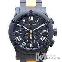 ラルフローレン 腕時計 スポーティング クロノグラフ セラミック 箱・保付 未使用品 【送料無料】