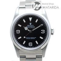 ロレックス 腕時計 エクスプローラー Ⅰ Ref.114270 D番 SS 黒文字盤 【送料無料】