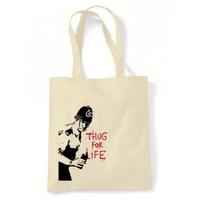 トートバッグ(Thug For Life Copper)