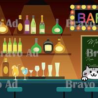 brav-04-00001 バーチャル背景 アニメーション背景