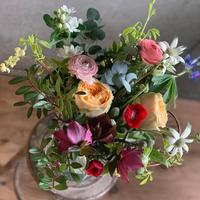 【定期便】フローリストが選ぶおうちのお花セット<火曜日着>