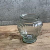 アンティークテイストガラス花器