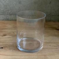 プレーンガラス花器