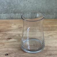 しずく型ガラス花器