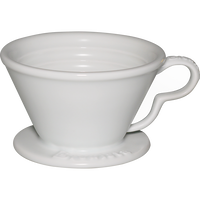アルティザンネクストウェーブポーセレンドリッパー ホワイト 2-4杯用