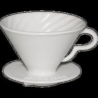 アルティザントルネードポーセレンドリッパー  ホワイト 2-4杯用