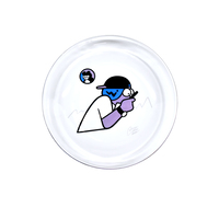 SCREENTIME GLASS PLATE <SEE-THROUGH>