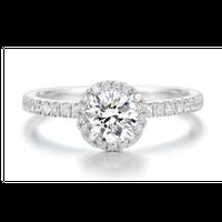 Brillant ring (0.53カラット)