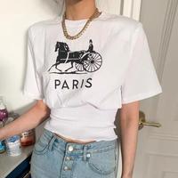 ホースtシャツ
