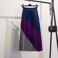 3colorプリーツスカート