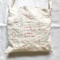 日々輪 手刺繍バック②