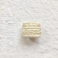 kiitos works ring ホワイト/ブラック