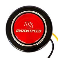 MAZDASPEED マツダスピード ロゴ入り 汎用 ホーンボタン