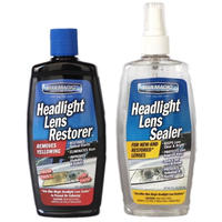 BLUEMAGIC ブルーマジック ヘッドライト 磨き剤 と シーラー(コーティング剤)のセット
