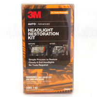 3M ヘッドライト レストレーションキット レンズ修復 くもり除去 手磨き用