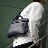"""【公式ショップ限定カラーINK BLUE】  """"クリエイターの為のスマート&コンパクトなブリーフバッグ"""" JIG mini"""