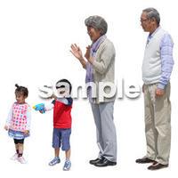 人物切抜き素材 シニアライフ編 R_012