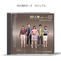 3D人物 Aポーズ02    [ DVD ]発送します