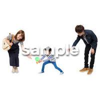 Cutout People ファミリー GG_182