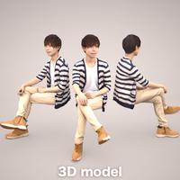3D人物素材  035_Toru