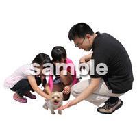 人物切抜き素材 レジャー・ショッピング編 L_420