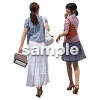 人物切抜き素材 レジャー・ショッピング編 L_068