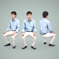 3D人物素材  [Posed]  109_Sota