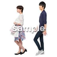 Cutout People ショッピング JJ_018