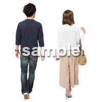 Cutout People ショッピング JJ_040
